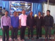 Rev. Manhseng and Monu with elders of Siju Church