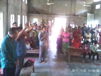 Gimegre Church Congregation  Worshiping God in spirit